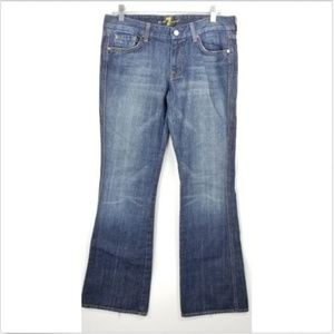 "7 for all Mankind ""A"" Pocket Jeans 31 Boot Cut"